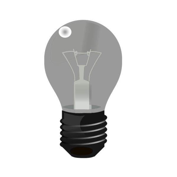 Two Light Bulbs PNG Clip art