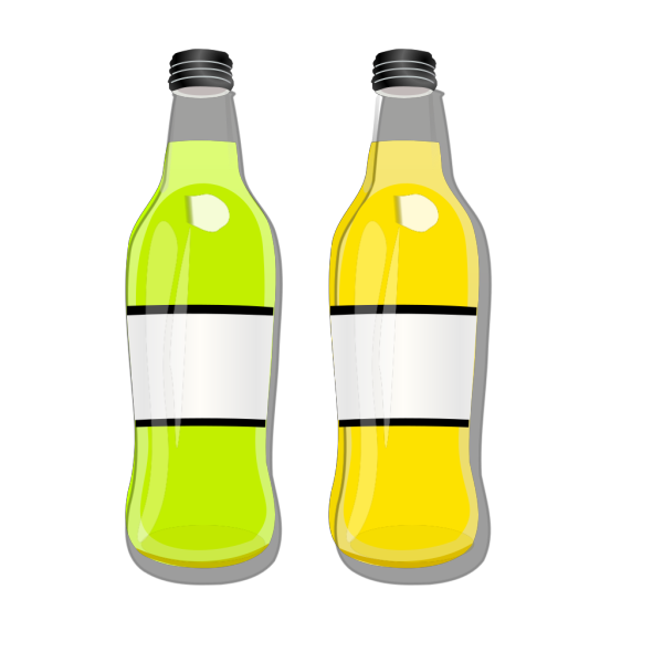 Soda Pop Bottles PNG Clip art