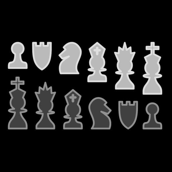 Chess Set PNG Clip art