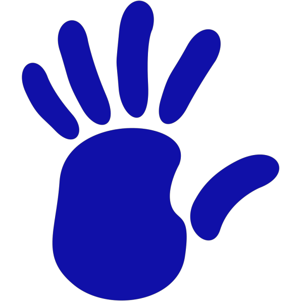 Left Hand - Red, Blue, Green PNG Clip art