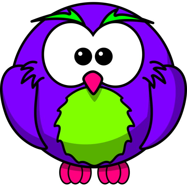 Birthday Party Owl PNG Clip art