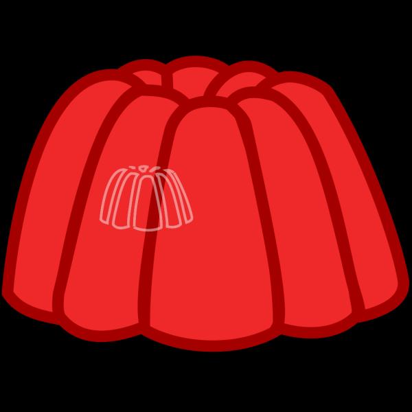 Red Jello PNG Clip art
