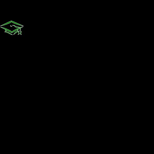 Mortarboard Outline-shs PNG Clip art