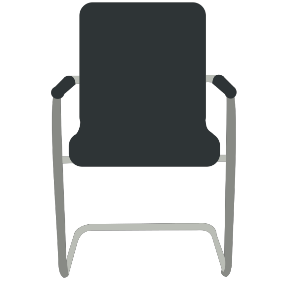 Black Desk Chair PNG Clip art