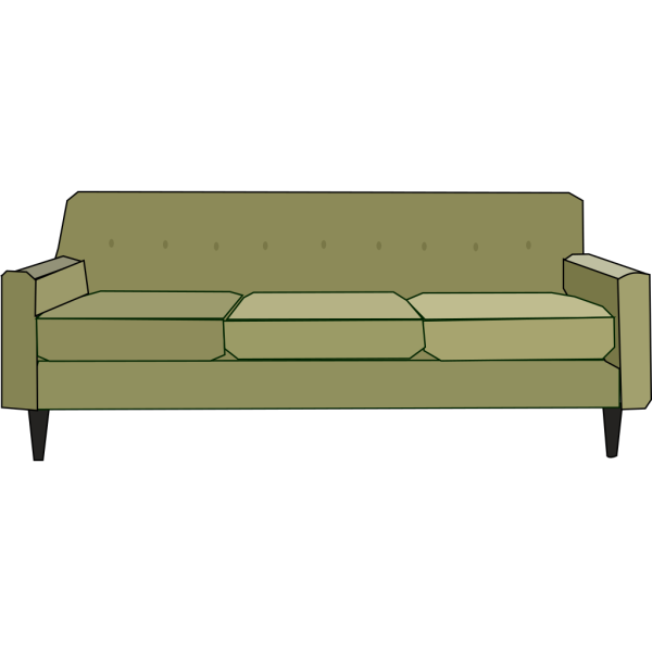 Green Sofa PNG images