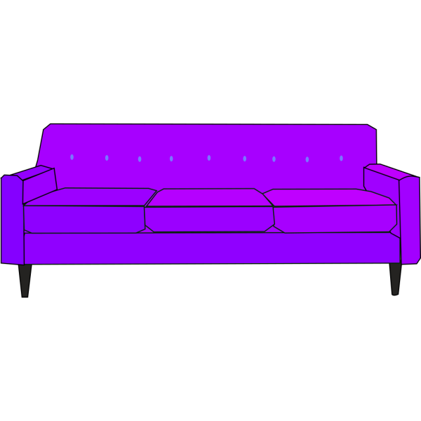 Purple Sofa PNG images