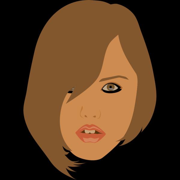 Brunette Girl PNG Clip art