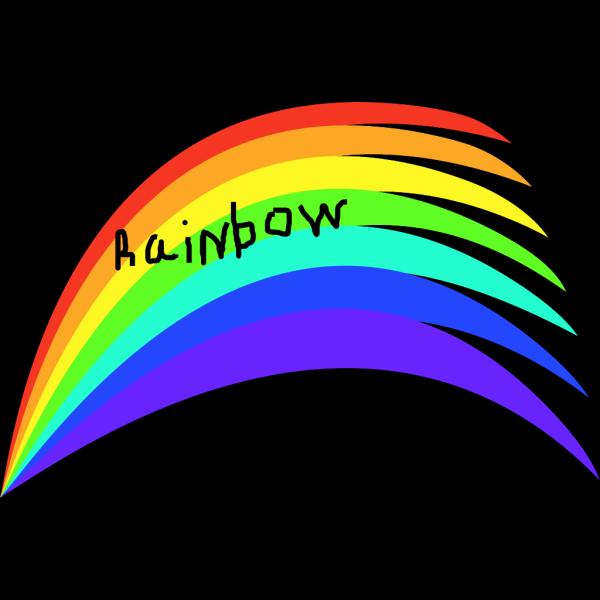 Rainbow Tp PNG Clip art
