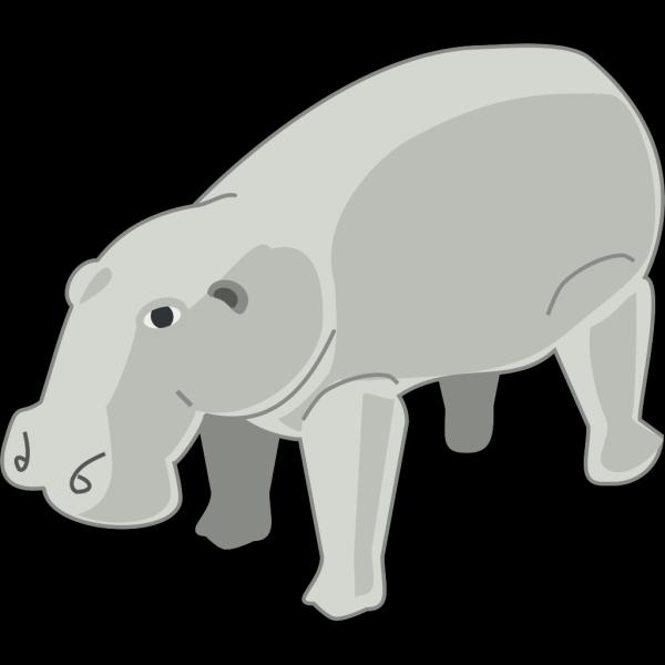 Hippopotamus 6 PNG images