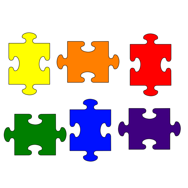 Primarysecondarypuzzle PNG Clip art