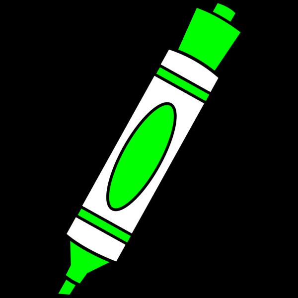 Green Color Marker PNG Clip art