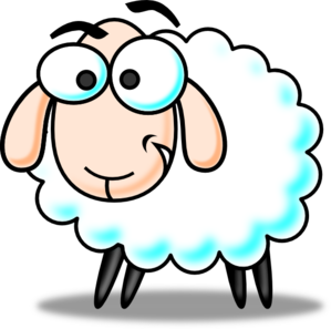 Eid Sheep Colored PNG Clip art