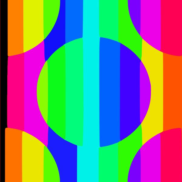 Rainbow Wallpaper Tile PNG Clip art