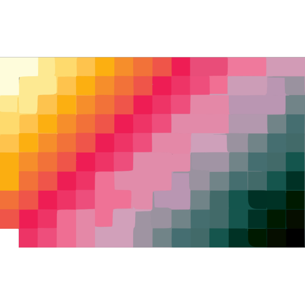 D Graphics Color Squares PNG Clip art