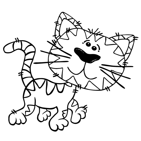 Cat Simple PNG Clip art