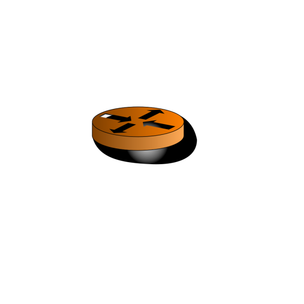 Green Router Symbol PNG Clip art