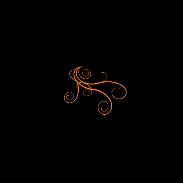 Orange Breeze PNG Clip art