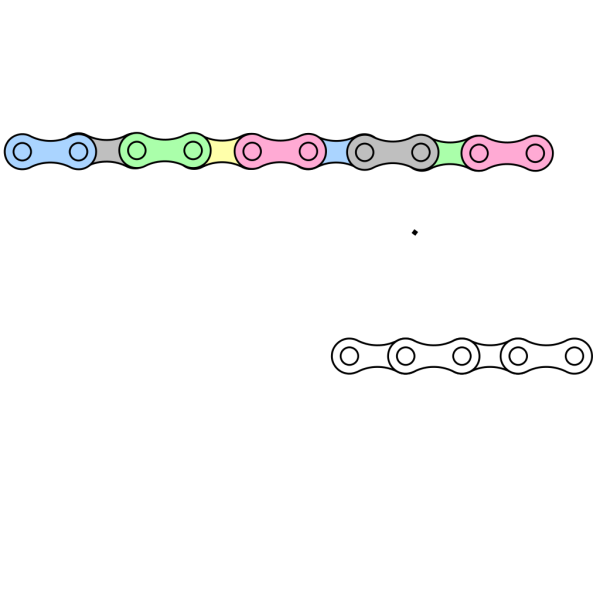Bike Chain PNG Clip art