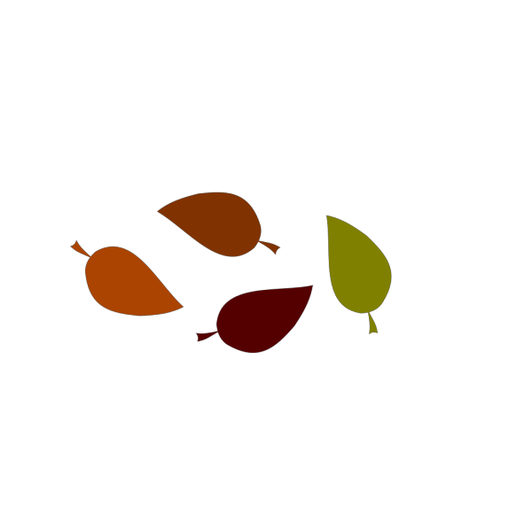 Autumn Leaf Colors PNG Clip art