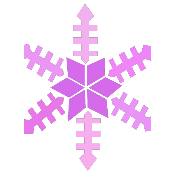 Purple Snowflake PNG Clip art