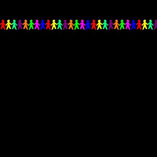 Multicolored Dolls PNG Clip art