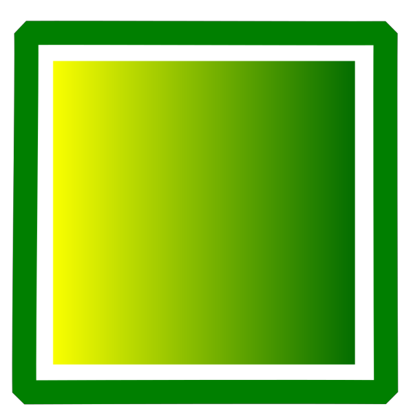 Green And Yellow Square PNG Clip art