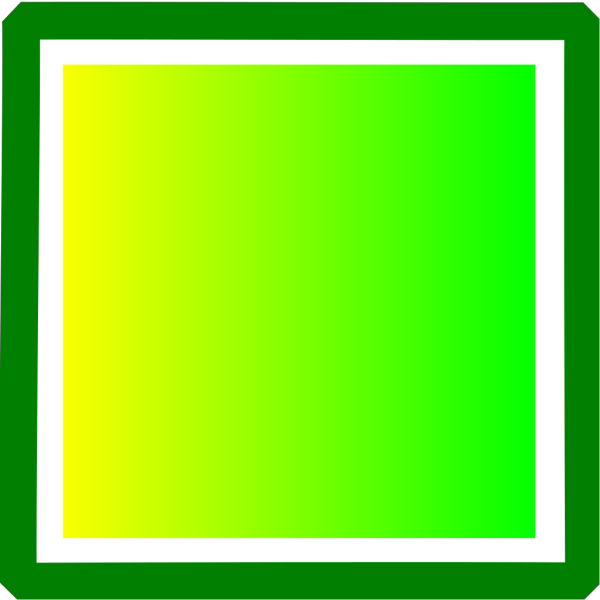 Yellow And Green Square PNG Clip art