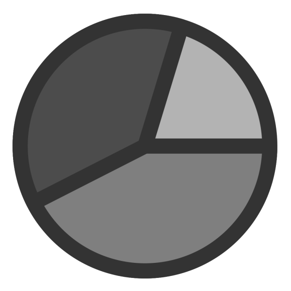Circle Graph PNG Clip art