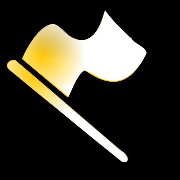 Gold Flag PNG Clip art