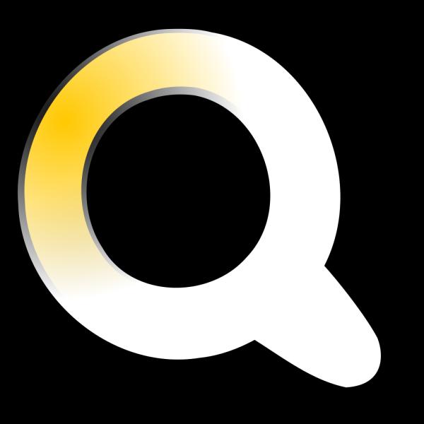 Golden Q PNG Clip art
