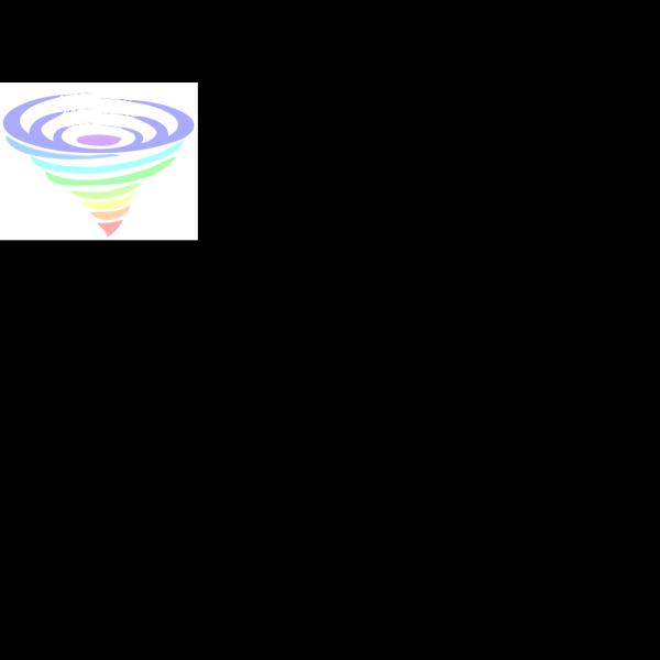 Multicolored Tornado PNG Clip art