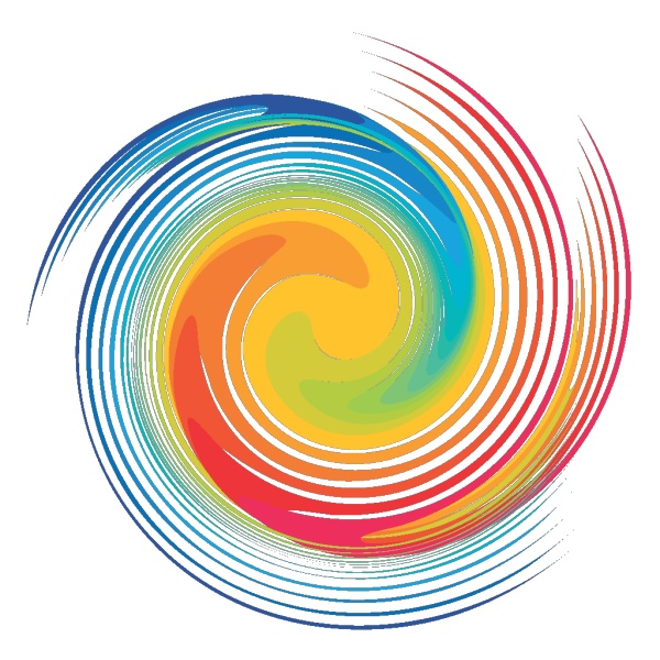 Rainbow Spiral PNG Clip art