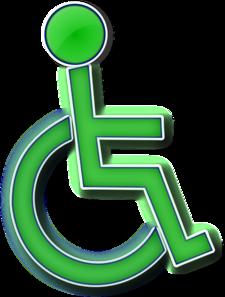 Handicap Symbol Different Colors PNG Clip art