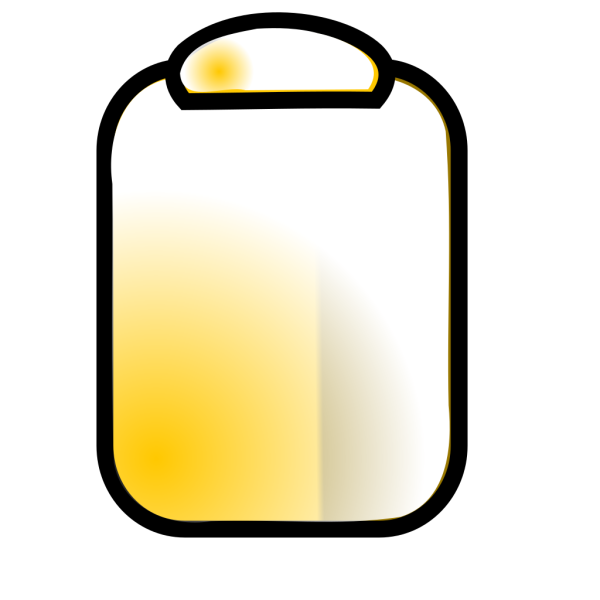 Yellow Clipboard PNG Clip art
