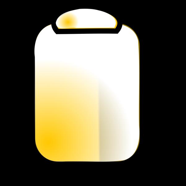 Yellow Clipboard PNG Clip art