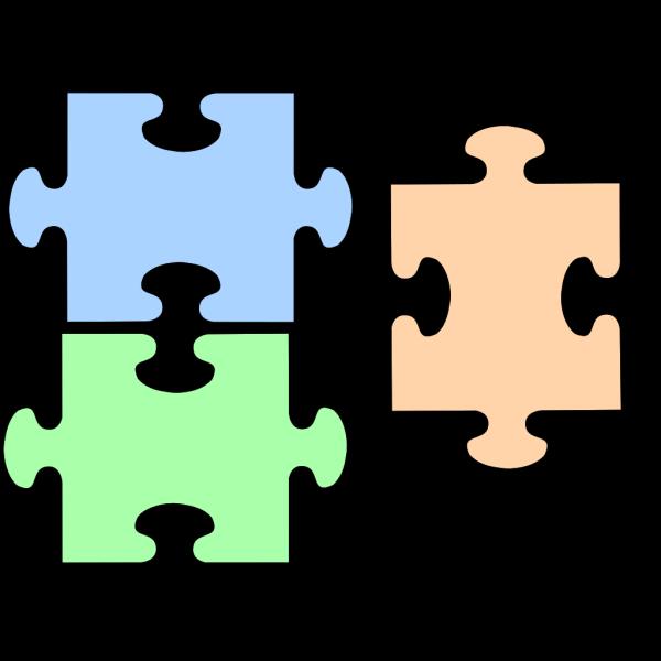 Puzzle Complete No Lines PNG Clip art