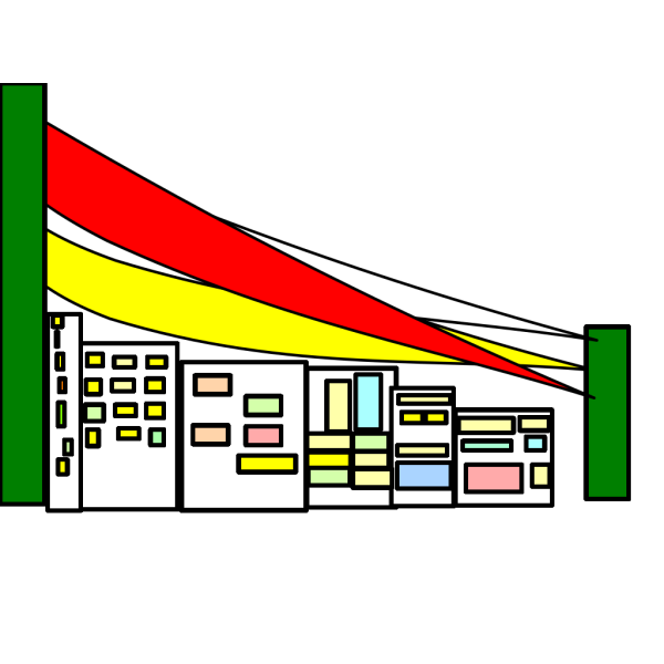 City Bridge PNG Clip art