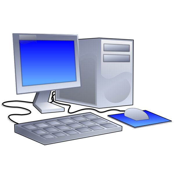 Colorful Computer Station PNG Clip art