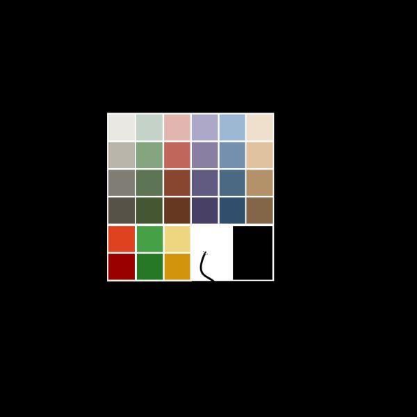 Gnome Palette PNG Clip art