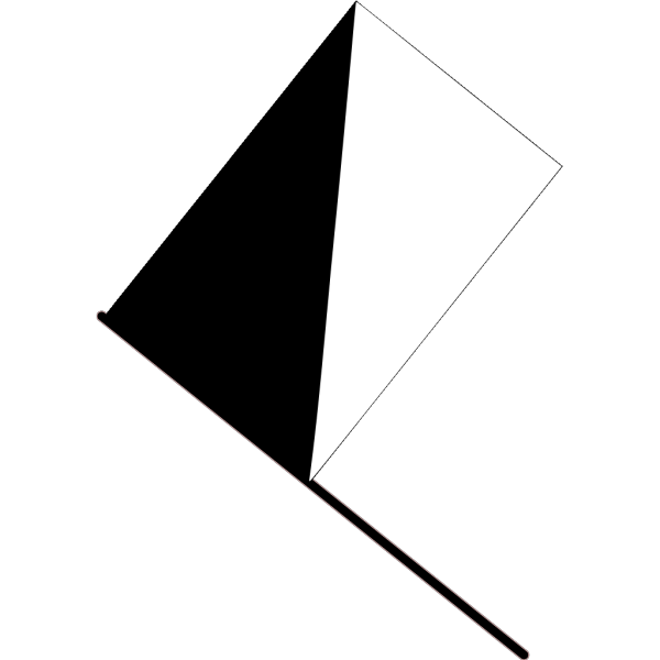 Black And White Flag PNG Clip art