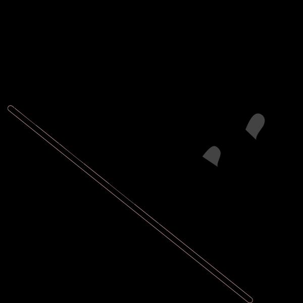 Wavy Checkered Flag PNG Clip art