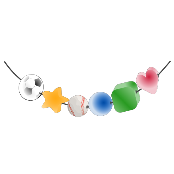 String Of Beads PNG Clip art