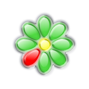 Colorful Glass Flower PNG Clip art