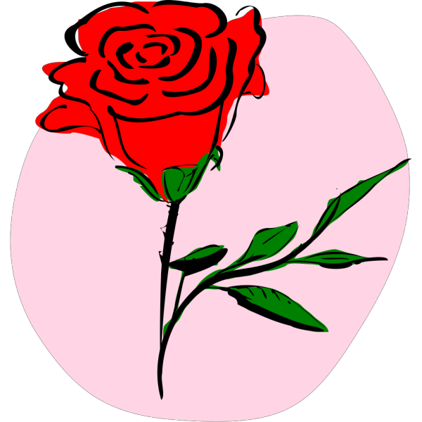 Red Roses Blooming PNG Clip art