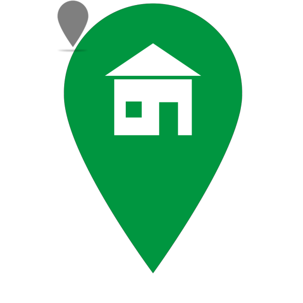Green Home Icon PNG Clip art
