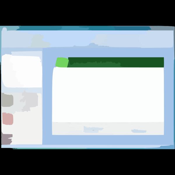 Screenshot 1 PNG Clip art