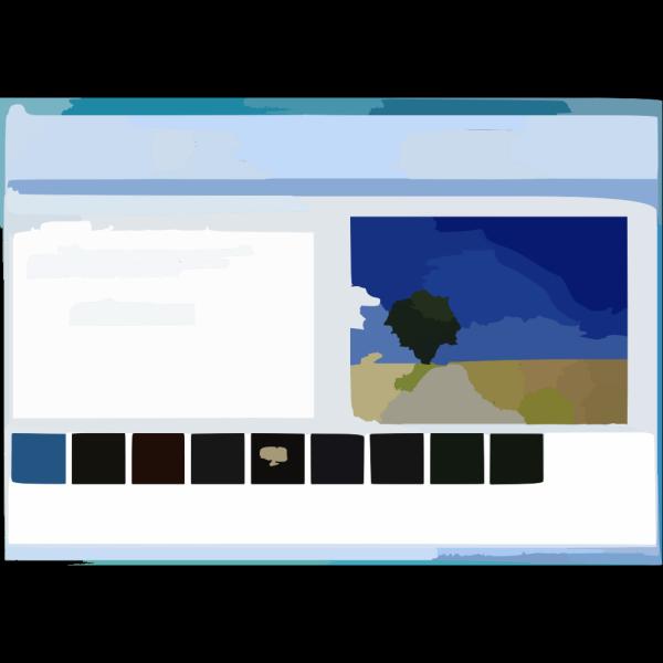 Screenshot 3 PNG Clip art