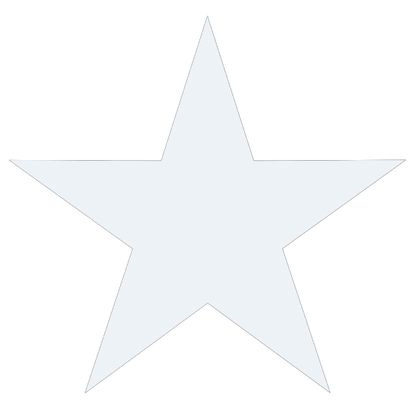 Black & White Starfish PNG icon
