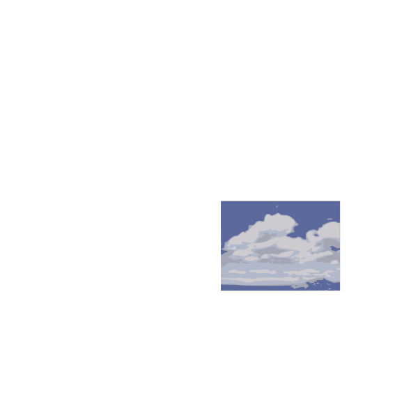 Clouds With Hidden Sun PNG image