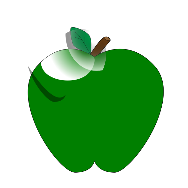 Green Apple PNG Clip art